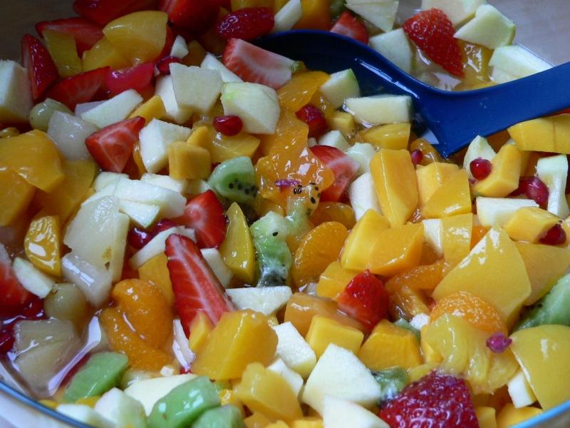 Ovocný salát podle Robina