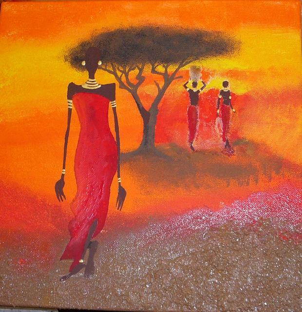 Malování na malířská plátna