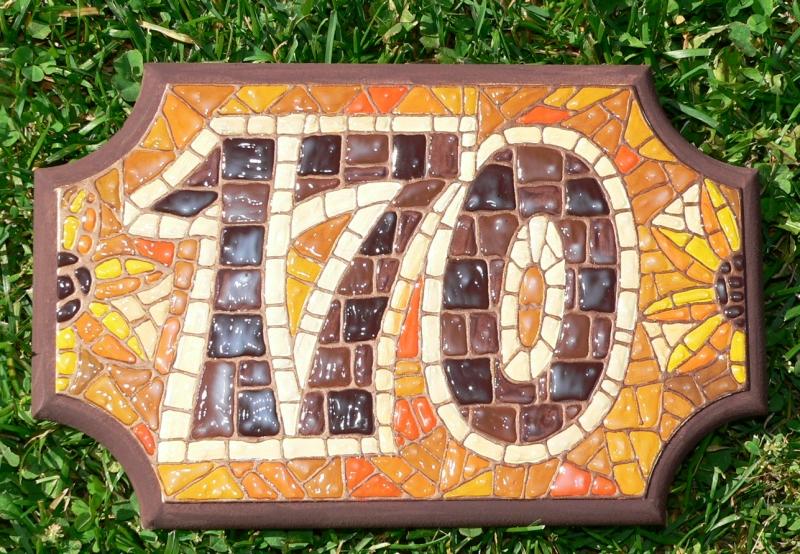 Malovaná mozaika