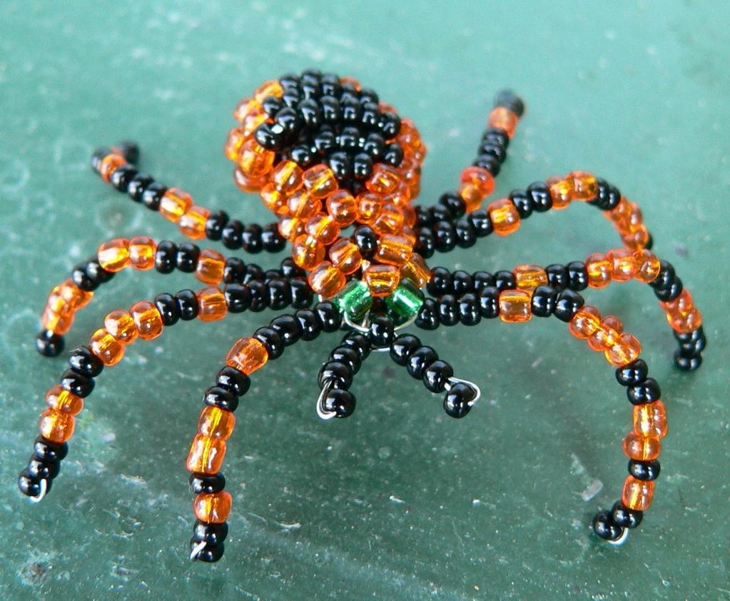 Pavouk z korálků