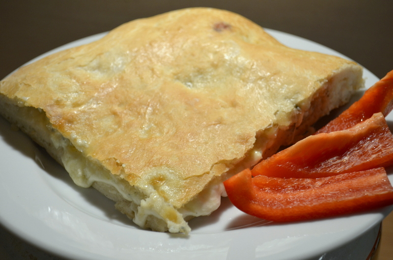 Focaccia – plněný italský chléb