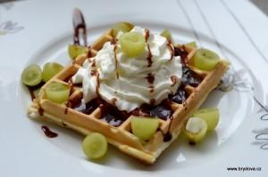 Vafle - sladké recepty