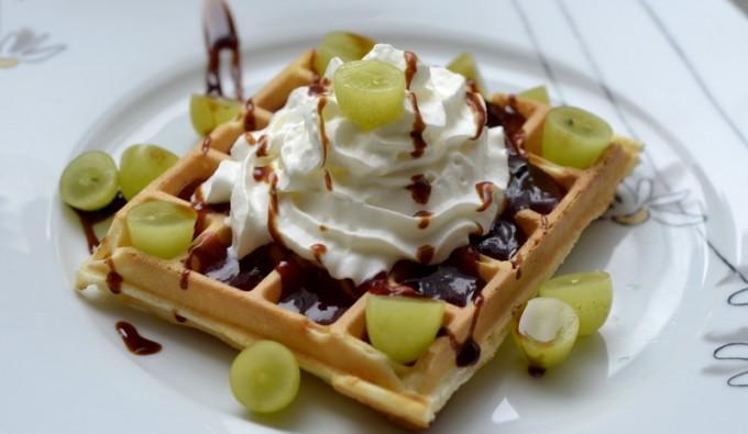 Vafle – sladké recepty