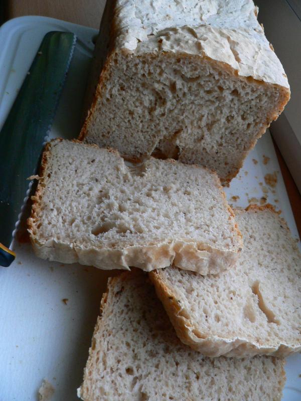 Pivní chleba se sezamem