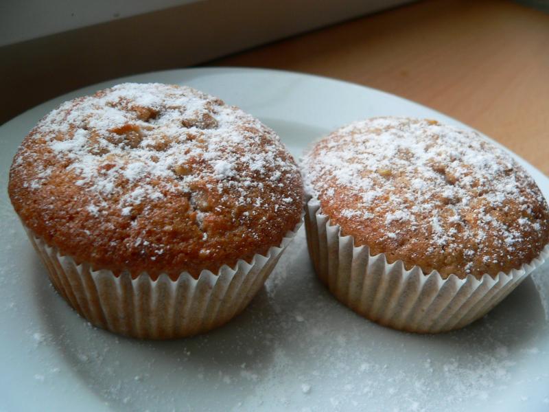 Jablkové muffins