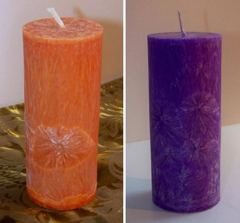 Svíčky z palmového vosku