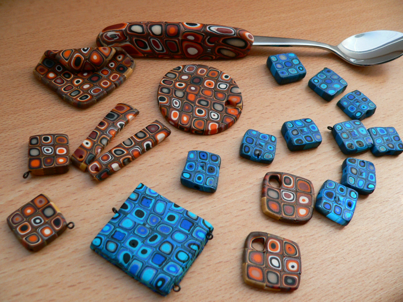 Extrudér aneb fimo ala Klimt