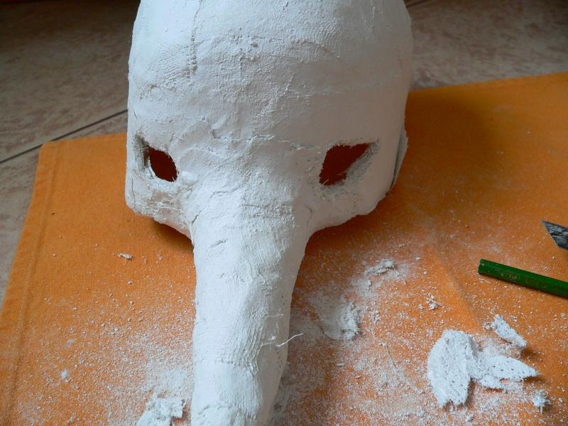 Sádrová maska I.