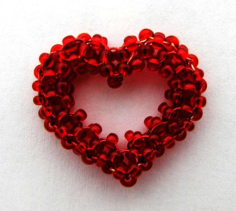 Korálkové srdce