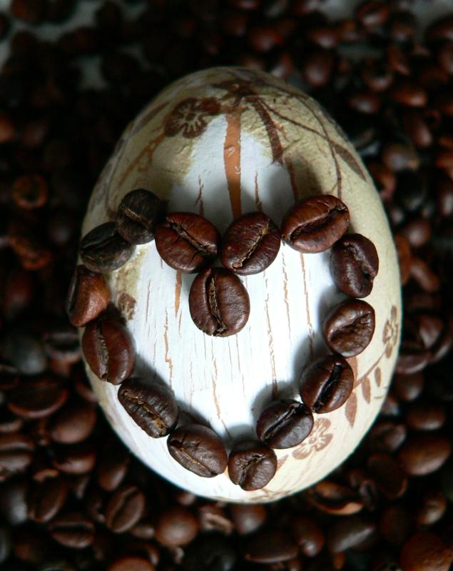 Kávové kraslice