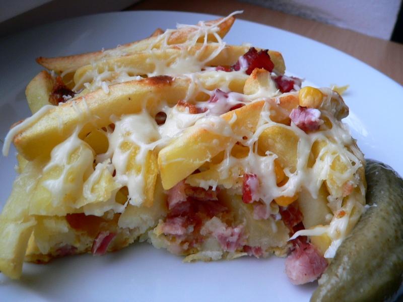 Hranolky jako francouzské brambory