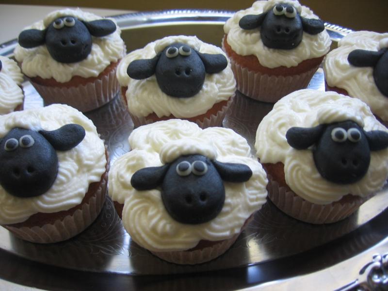 Muffiny jako ovečky