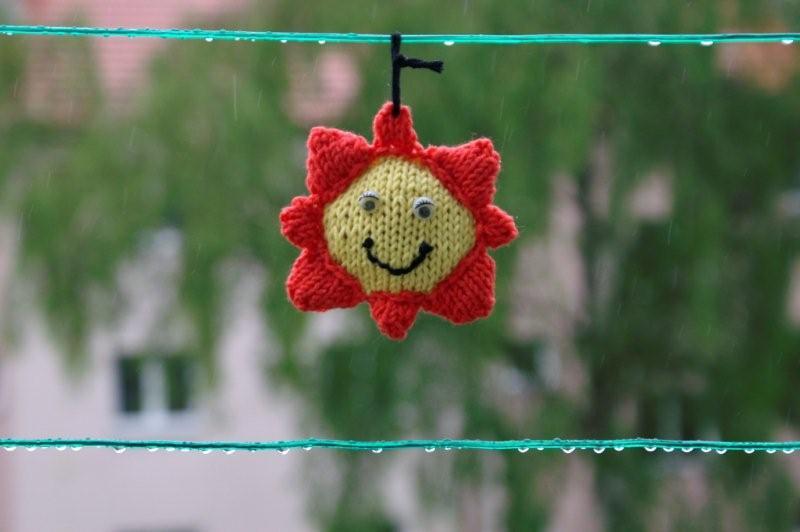 Sluníčko pletené
