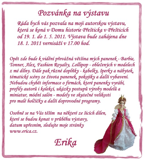 Výstava panenek v Přešticích
