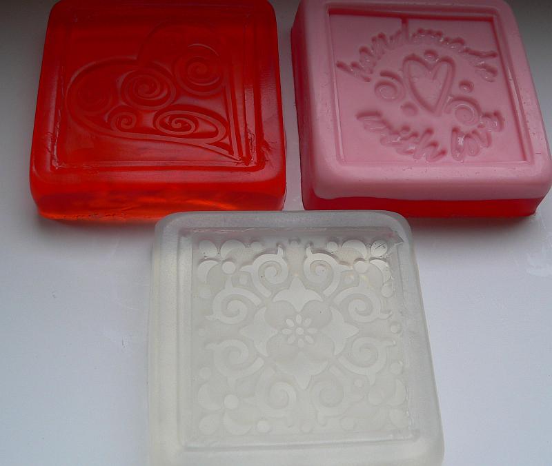 Refiéfní mýdla