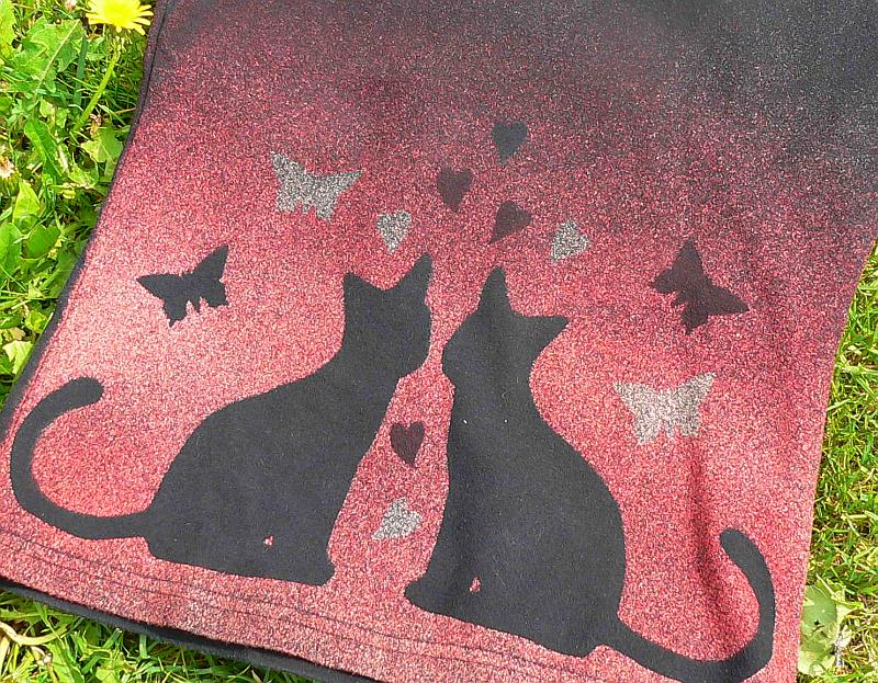 Zamilované kočky na triku