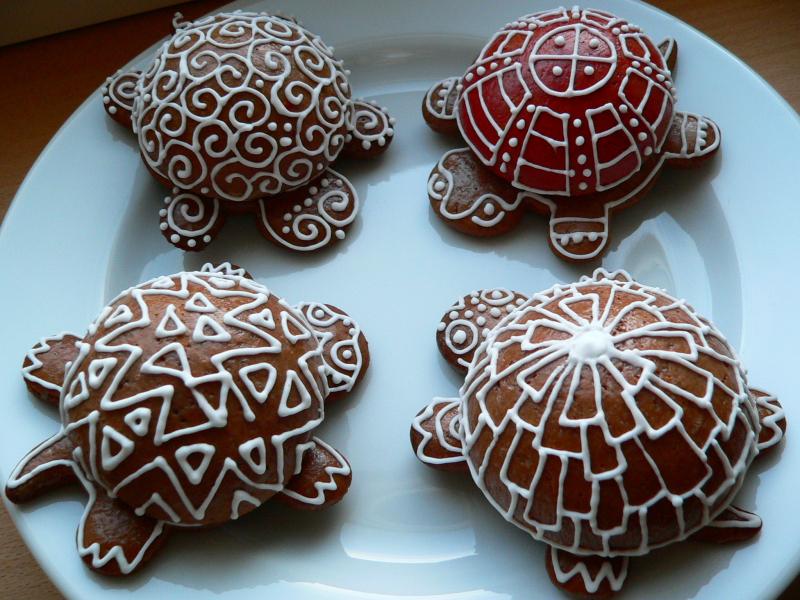 Perníkové želvy