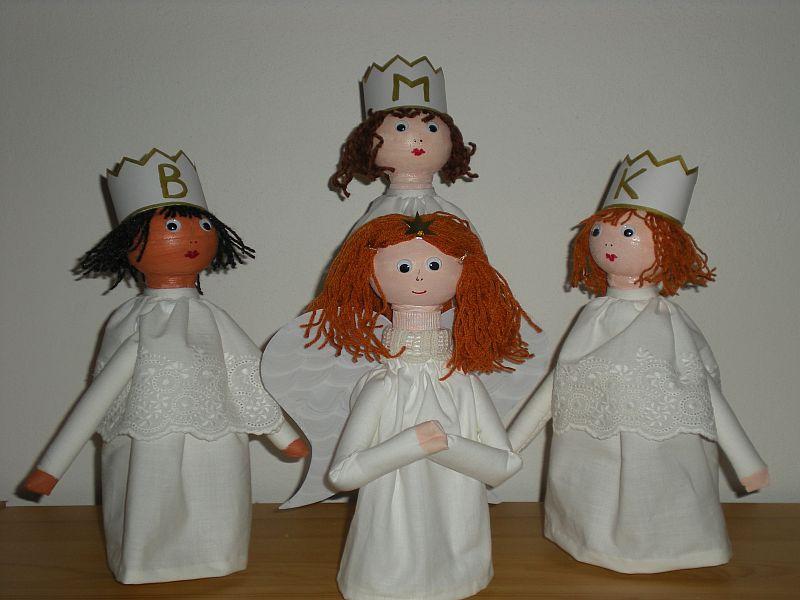 Andílek a tři králové
