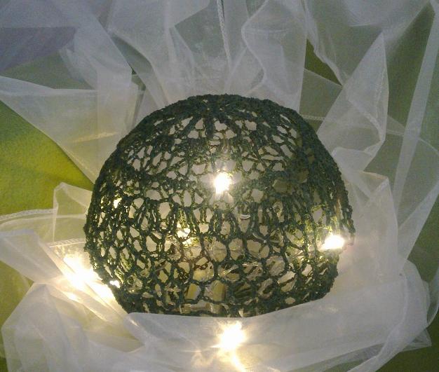 Vánoční svítící koule