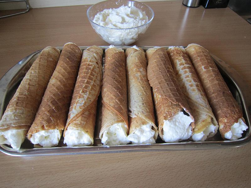 Zmrzlinové trubičky