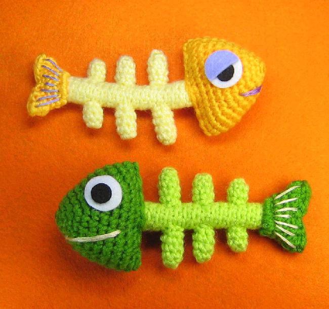 Háčkovaný fishbone :-)