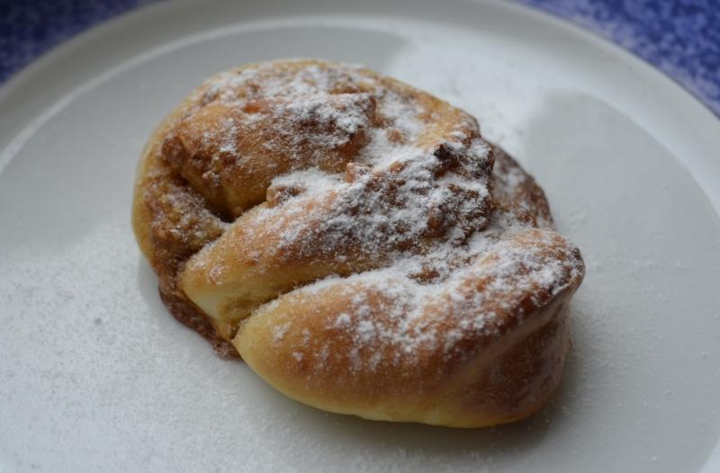 Karamelovo-ořechoví šneci