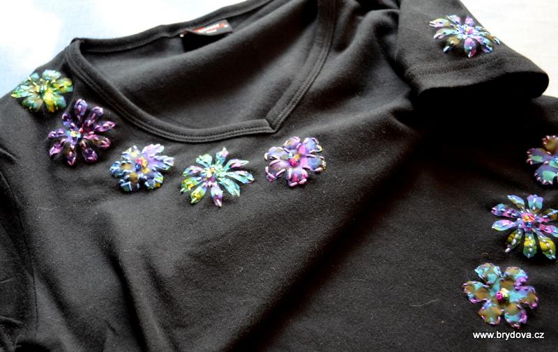 Textilní aplikace pomocí BigShotu