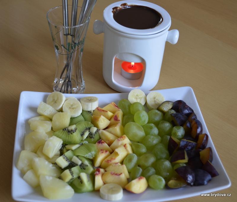 Čokoládové fondue