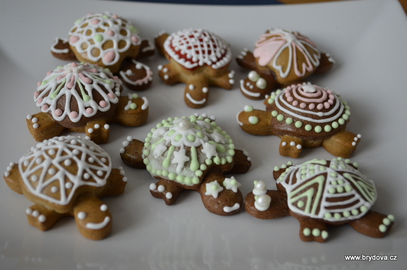 Perníkové želvičky