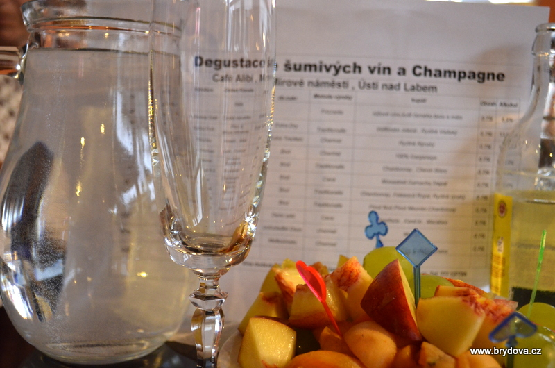 Degustace šumivých vín a Champagne