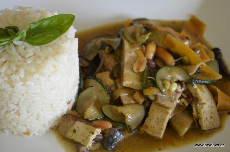 Vegan směs s rýží