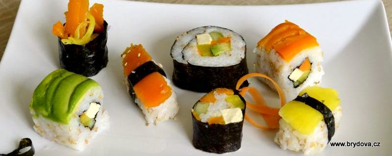 Sushi vegan a RAW