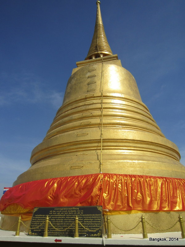 Thajsko – 7.díl – Bangkok – Golden Mount a přesun na jih
