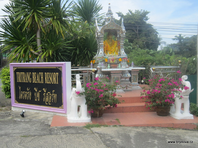 Thajsko – 10.díl – domečky pro duchy