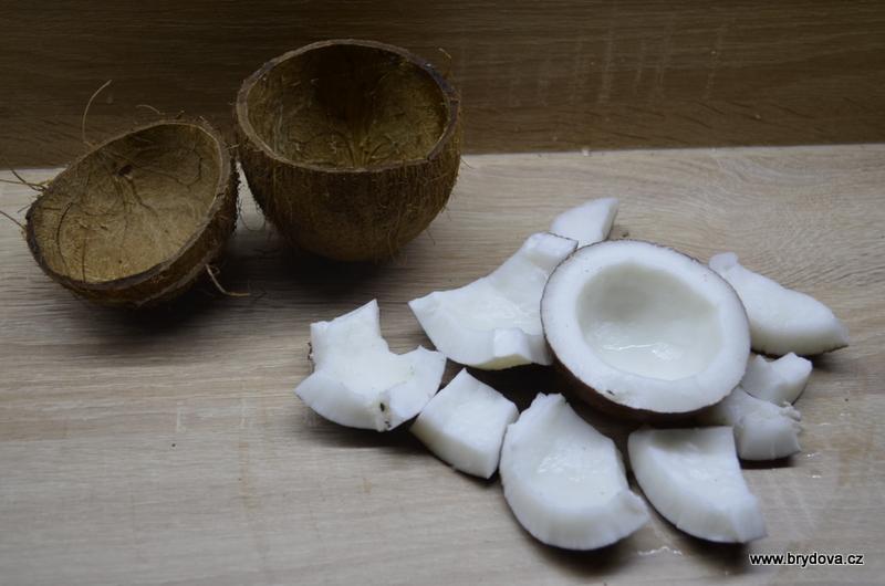 Jak na kokosový ořech