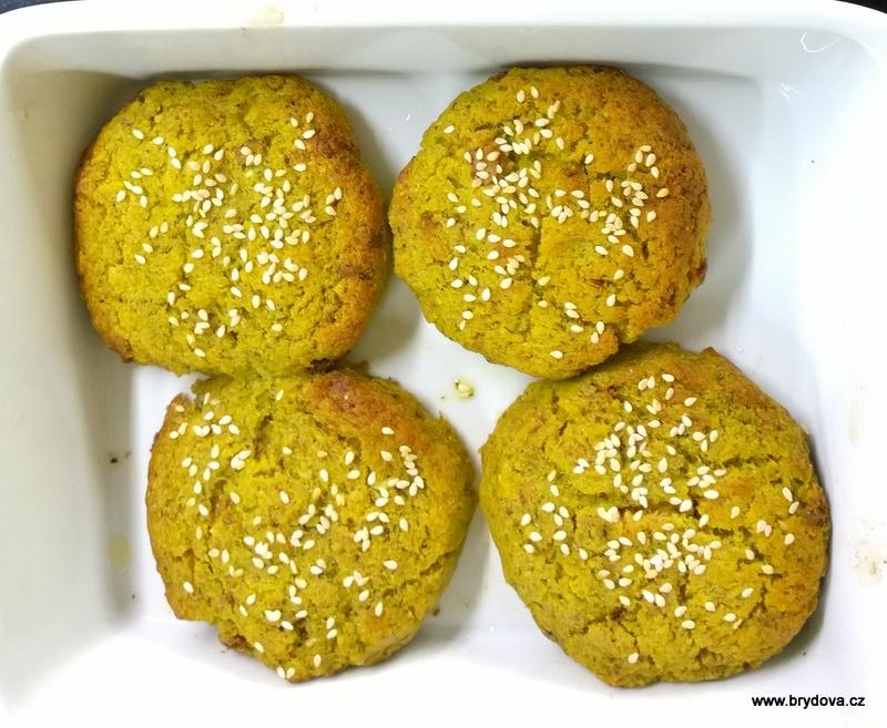 Brokolicovo-čočkové  placky
