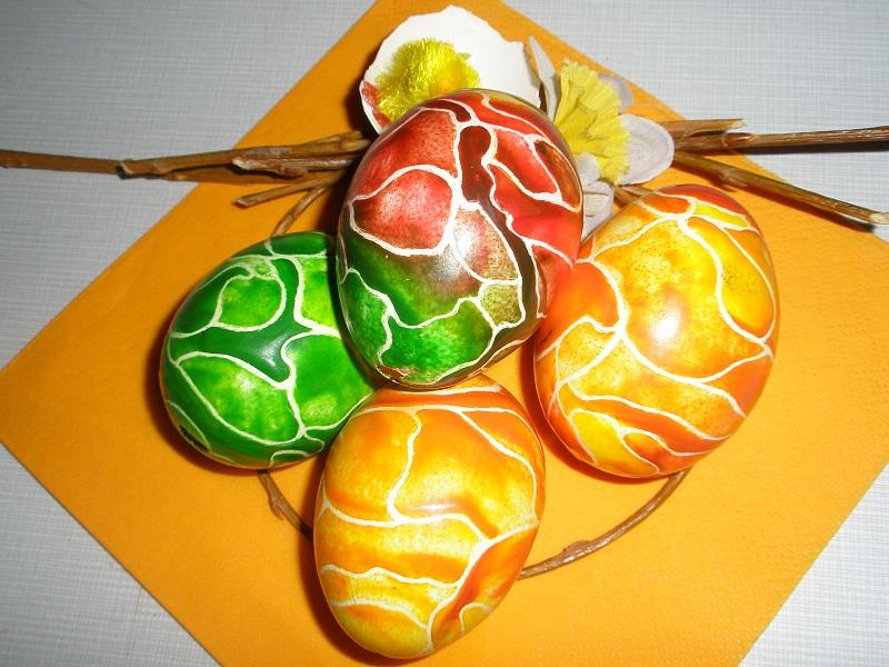 Batikované kraslice