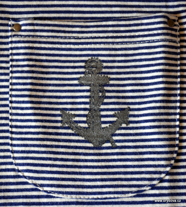 Navy triko