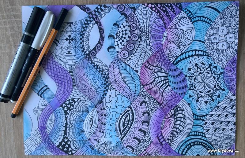 Stínování pomocí barev Gelatos