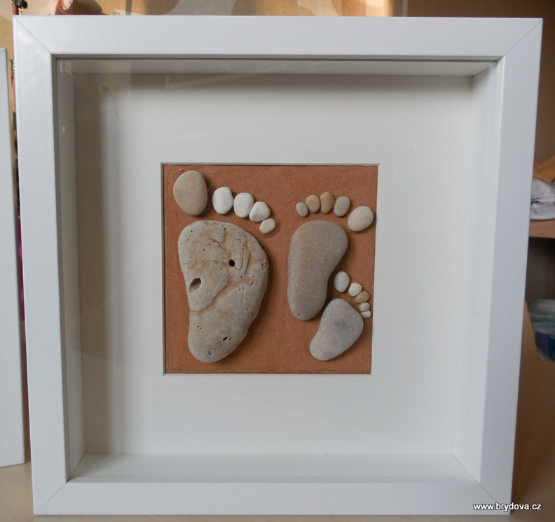 Obrázek z kamínků