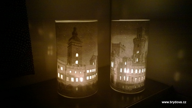 FOTO svícny