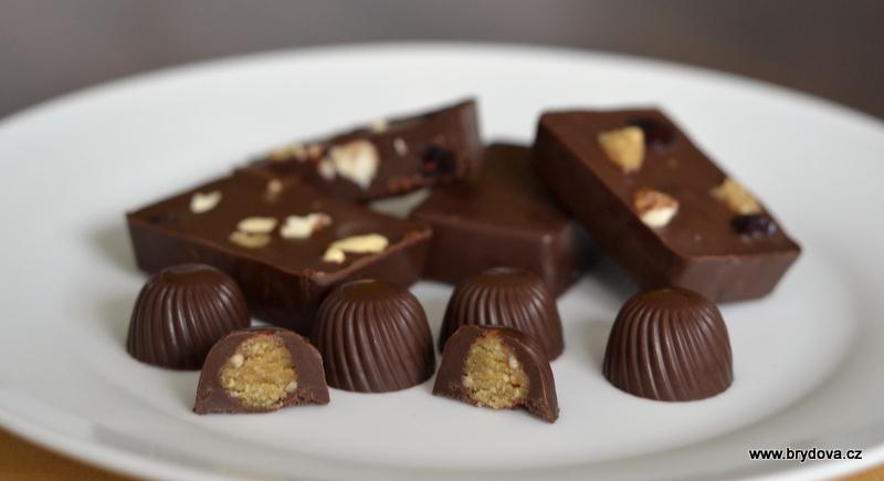 Plněná čokoláda