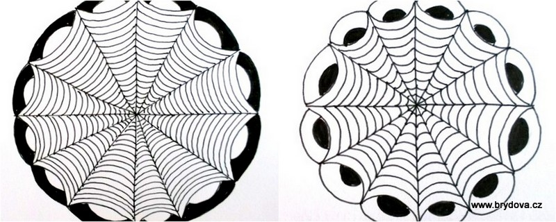 Zentangle – spider