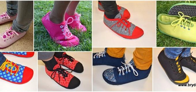 Kurz šití barefoot bot v Praze