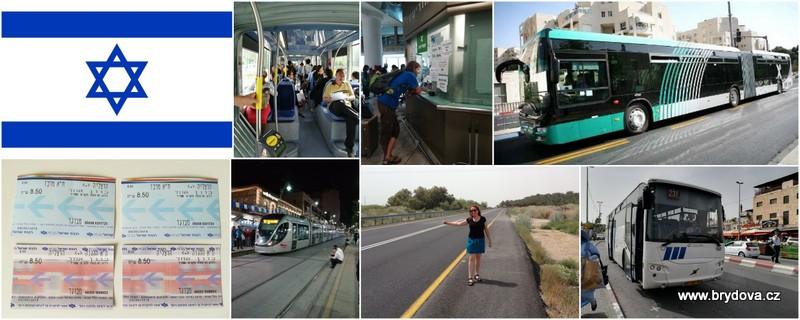 Izrael – autobusy, vlaky, tramvaje