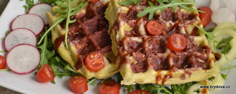 Slané vafle – vegan a bezlepkové