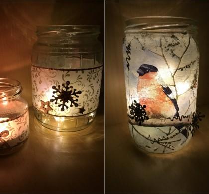 Jednoduché svícny