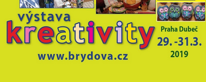 Výstava Kreativity – jaro 2019