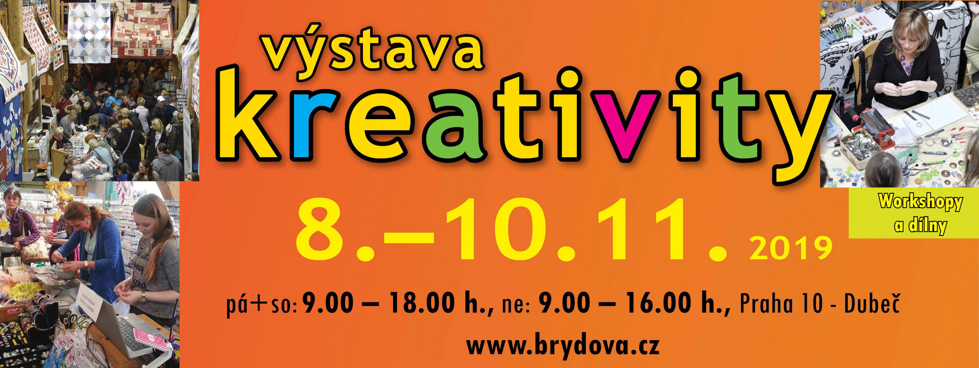 Výstava Kreativity – podzim 2019
