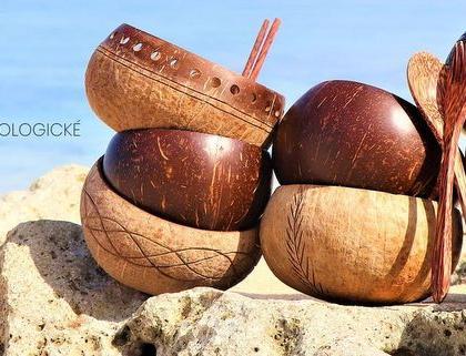 Kokosové misky
